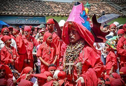 Diablos Danzantes de Corpus Christi
