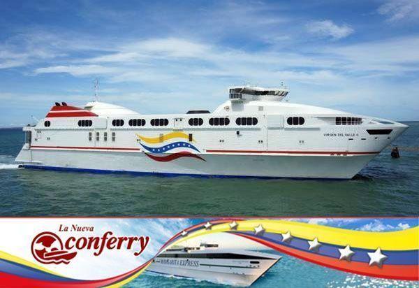 Tarifas de Ferry a Margarita de Conferry