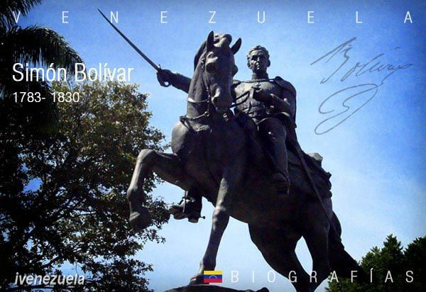 Simón Bolívar El Libertador | Biografía