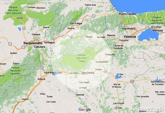 Parque Nacional General Manuel Manrique – Tirgua