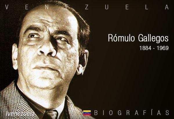 Rómulo Gallegos | Biografía
