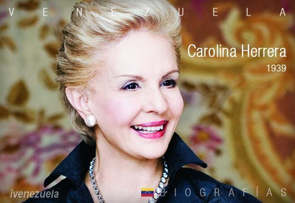 Carolina Herrera símbolo de elegancia y éxito
