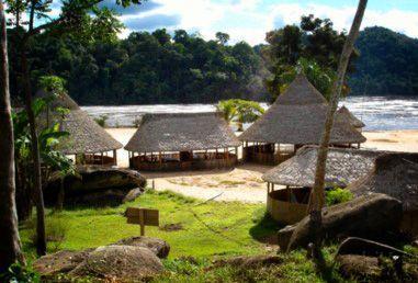 Turismo en el río Caura hasta el salto Pará - Campamento
