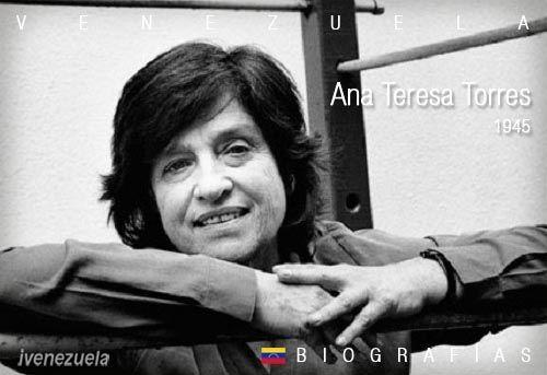Ana Teresa Torres escritora de oficio | Biografía