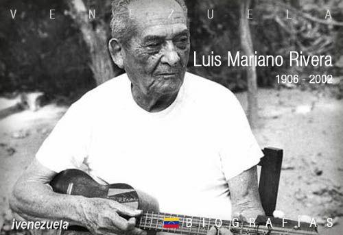 Luis Mariano Rivera el cantor de Canchunchú | Biografía