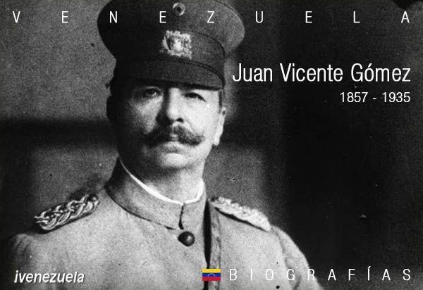 El Benemérito Juan Vicente Gómez