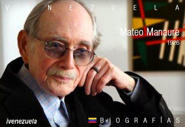 Mateo Manaure | Biografía