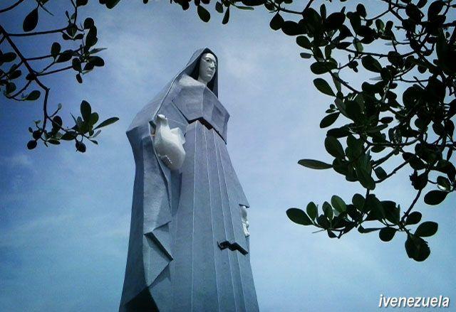 Monumento Virgen de la Paz en Trujillo Venezuela