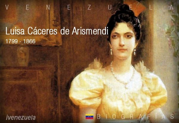 Luisa Cáceres de Arismendi   Biografía