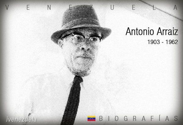 Antonio Arraiz | Biografía | Tío Tigre y Tío Conejo