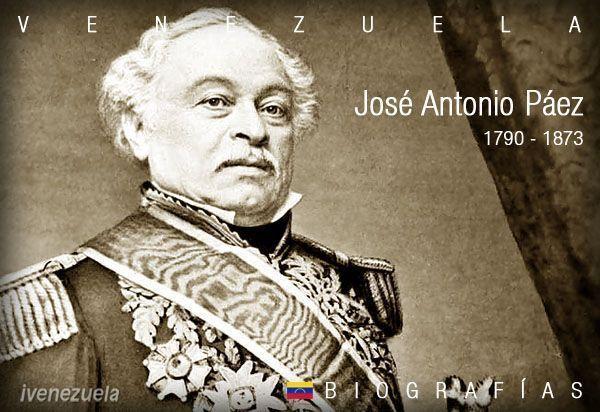 José Antonio Páez | Biografía