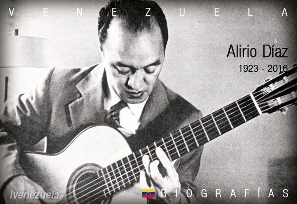 Alirio Díaz | Biografía | Guitarrista
