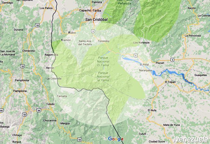 Parque Nacional El Tamá   Táchira   Apure