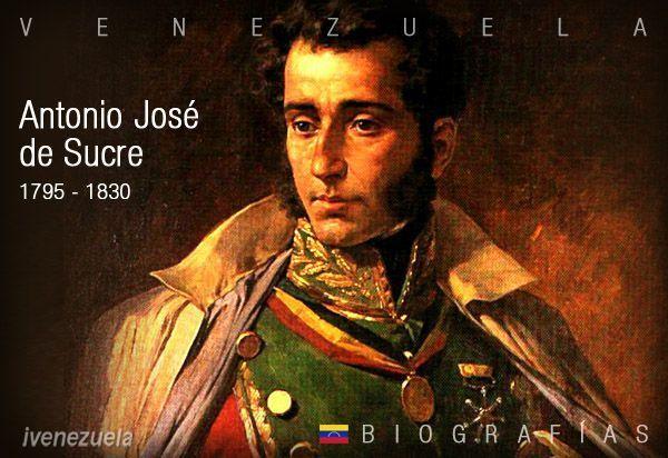 Antonio José de Sucre | Biografía