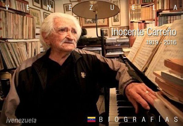 Inocente Carreño | Biografía | Músico
