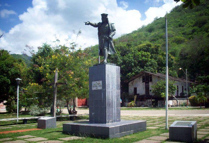 Cristóbal Colón llega a Venezuela