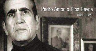 Pedro Antonio Ríos Reyna   Biografía