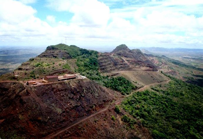 Hierro venezolano   Cerro Bolívar