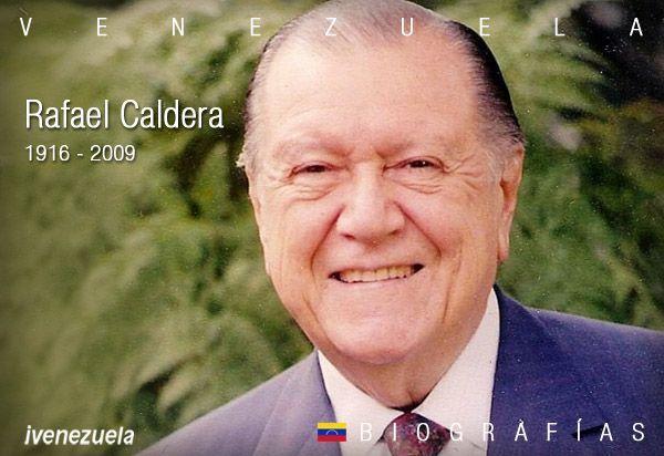 Rafael Caldera | Biografía | Presidente