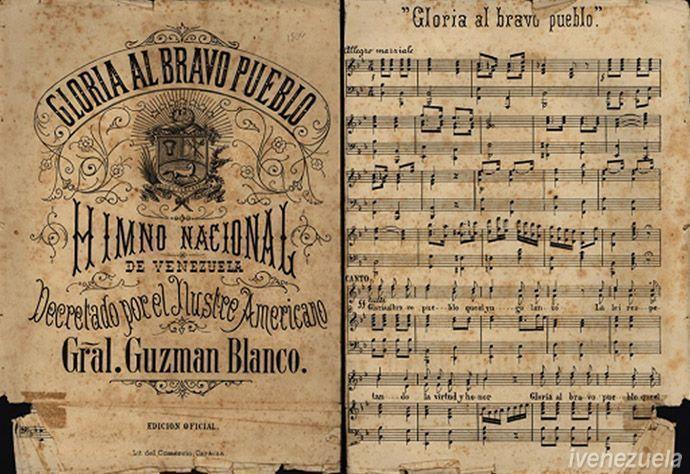 Himno Nacional de Venezuela   Letra