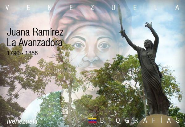 Juana Ramírez La Avanzadora | Biografía