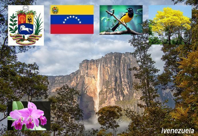 Símbolos Patrios de Venezuela y los Símbolos Nacionales de Venezuela