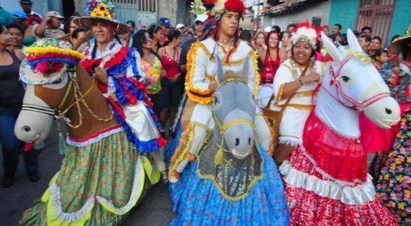 Baile de La Burriquita | Folklore