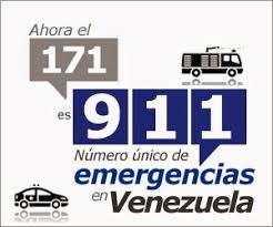 Teléfonos de Emergencia en Venezuela 911