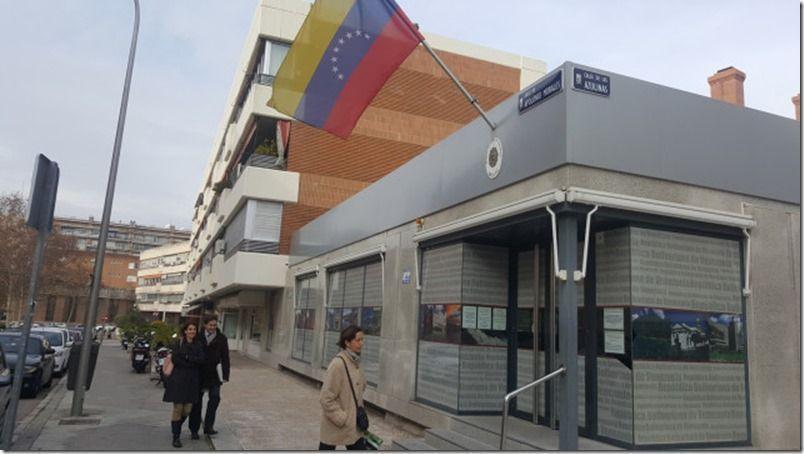 Embajadas y consulados de Venezuela en España